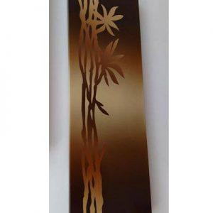 Panou ceramic bamboo fundal maro